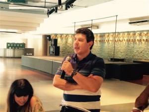 Roberto Nowicki, referente del Sindicato Gran Buenos Aires de Trabajadores de Obras Sanitarias (SGBATOS).