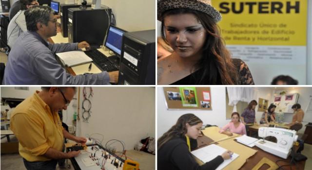 Formación Profesional en SUTERH: oferta de cursos 2do. cuatrimestre 2015