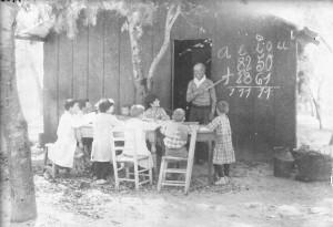 11 de septiembre - Día del maestro, escuelasytrenes tala blogspot -esc rural hacia 1890