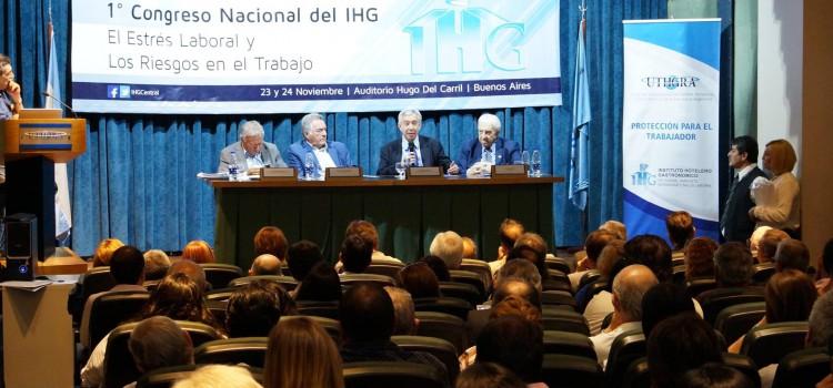 Se realizó el Primer Congreso del Instituto Hotelero Gastronómico de UTHGRA