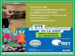 Becas de UTE para estudiar la Licenciatura para docentes de la UMET