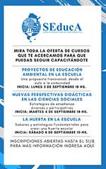 Oferta de cursos de capacitación en SEDUCA