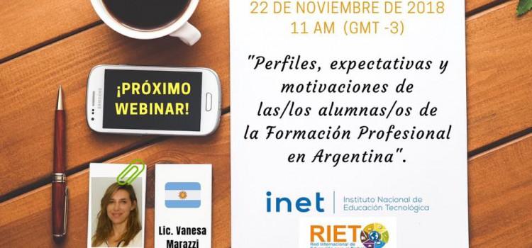 Formación Profesional: nueva conferencia gratuita organizada por RIET