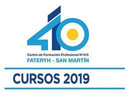 Cursos 2019 en el CFP 410 FATERYH: Ya están disponibles las inscripciones online