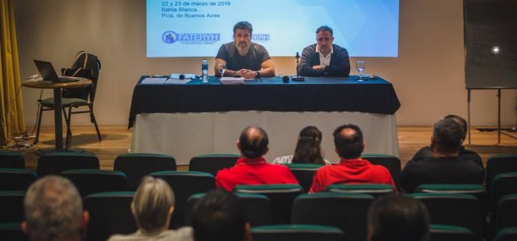 FATERyH realizó su XVIII Encuentro de Educación y Capacitación en Bahía Blanca