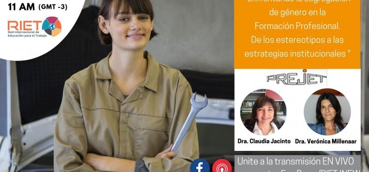 RIET organiza una nueva conferencia gratuita sobre Formación Profesional