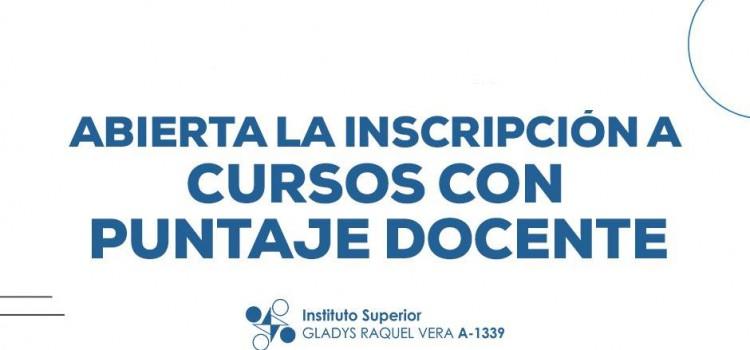Instituto Superior Gladys Vera: Abierta la inscripción para cursos de capacitación docente