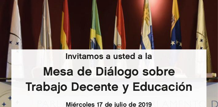 UMET: Mesa de Diálogo sobre Trabajo Decente y Educación