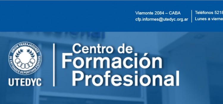 Formación Profesional en UTEDYC: Oferta de cursos 2do cuatrimestre 2019