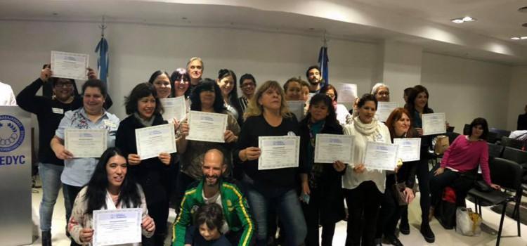 UTEDYC: Entrega de certificados de Formación Profesional julio 2019