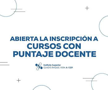 Cursos de formación docente en el Instituto Gladys Vera