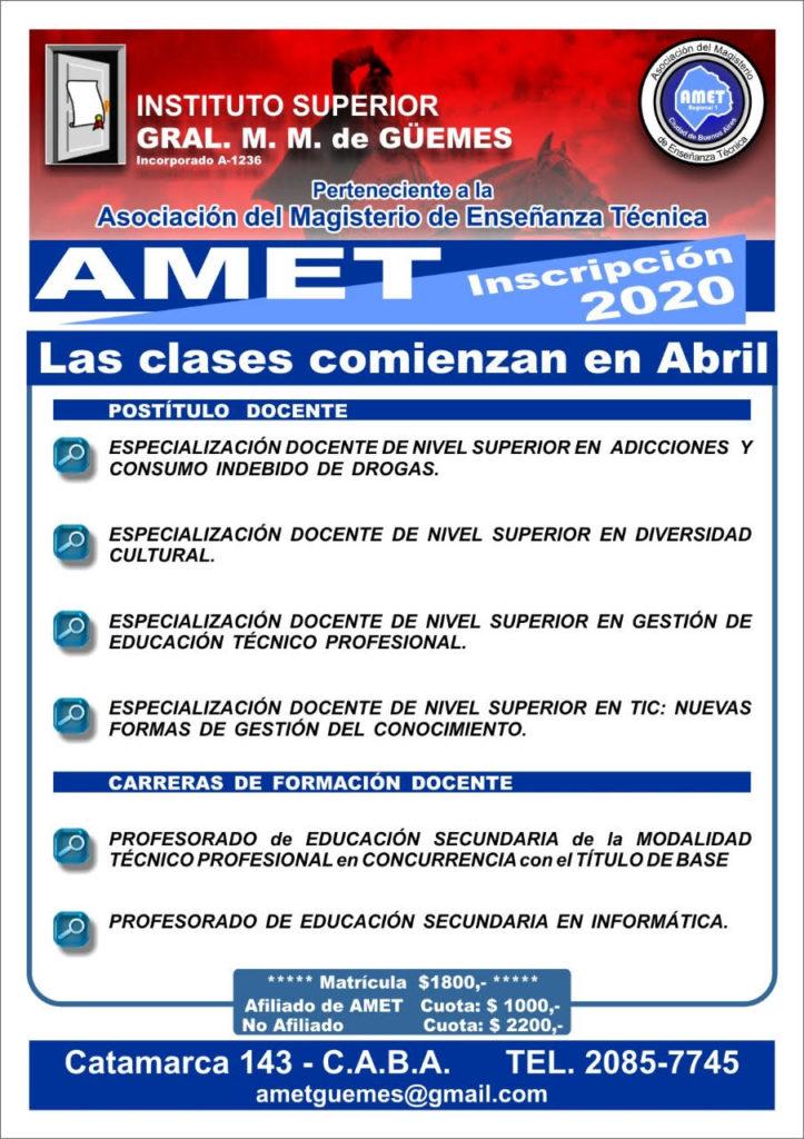 02 AMET - Instituto Guemes - 17 02 20