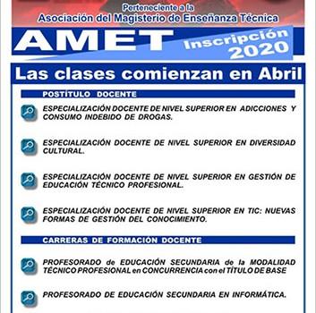 AMET: Formación docente en el Instituto Güemes