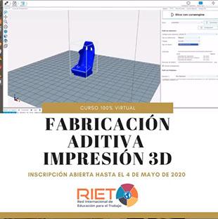 RIET: Curso online de Impresión 3D