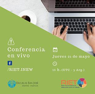 RIET: el próximo 21 de mayo se realizará una nuevo webinar sobre Formación Profesional