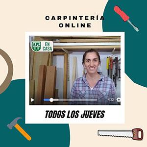 APL: curso de carpintería online