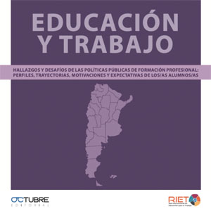 RIET publicó un libro sobre Formación Profesional