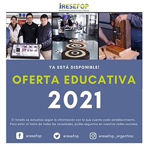 RESEFOP: Oferta de capacitaciones 2021