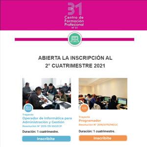 SEDUCA: Cursos de Programación y Operación de Informática