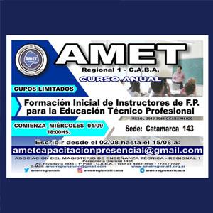 AMET: Formación de Instructores e Instructoras