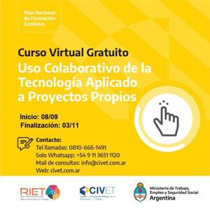 Inscripción a cursos gratuitos online de RIET y el Ministerio de Trabajo: Automatización Industrial y más propuestas!